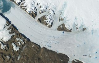 Satellites Show Glaciers Rapidly Shrinking from Climate Change