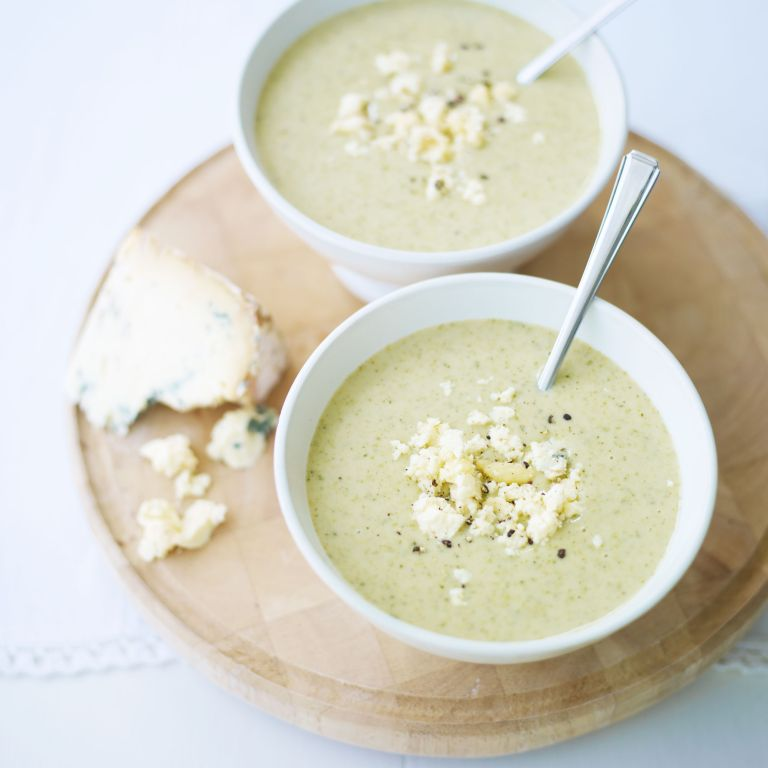 Broccoli and Stilton Soup recipe-Soup recipes-recipe ideas-new recipes-woman and home