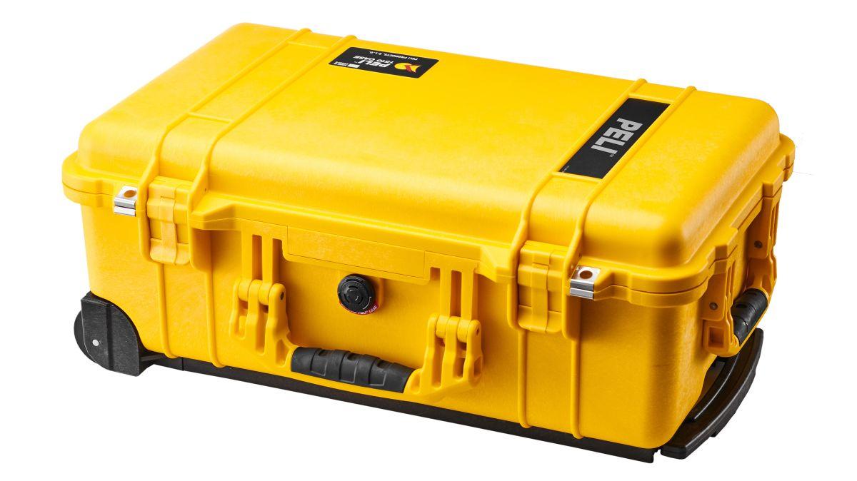 Equipment Case 3 Removable Foam Camera Lenses Accessories Travel Box Black 35 cm