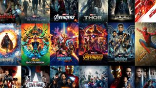 All marvel movies in order