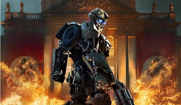 Transformers The Last knight Transformers v Nazis