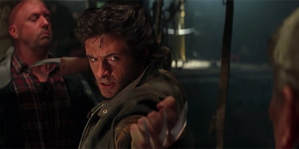 Wolverine baring his claws in X-Men