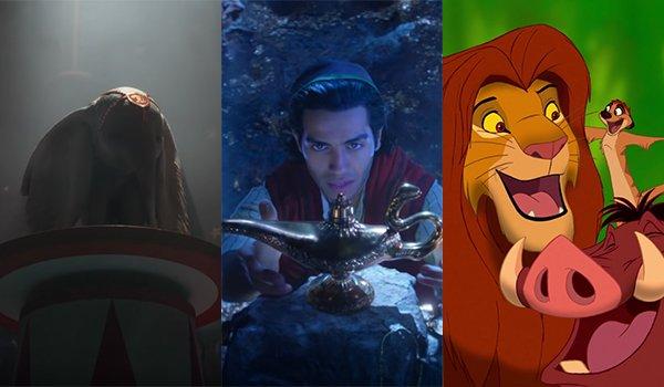 Dumbo, Aladdin, The Lion King