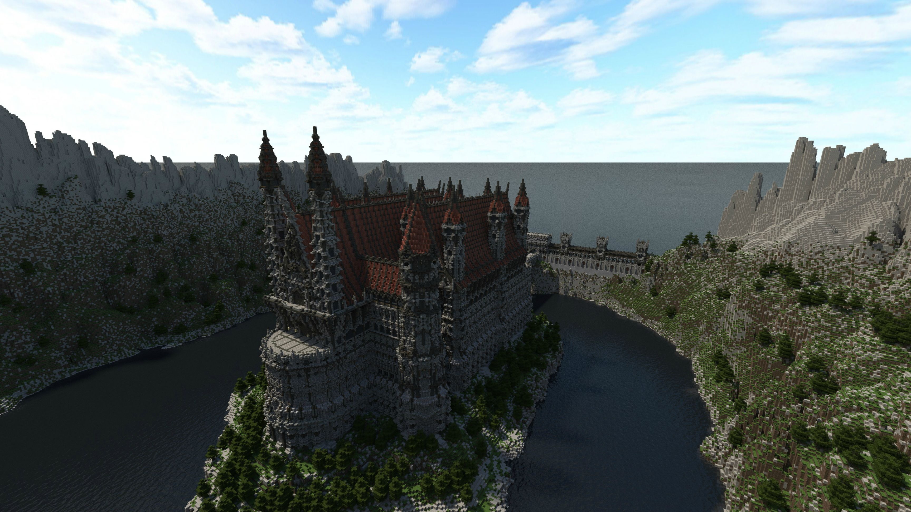 Over four years went into building this gorgeous Minecraft kingdom ...