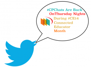 #CPChats Are Back On Thursday Nights During October #CE14