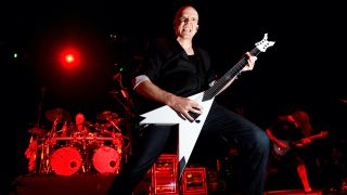 Devin Townsend of The Devin Townsend Project performing live on stage at Download Festival on June 7, 2012
