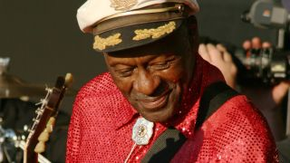 The late Chuck Berry