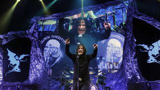 Black Sabbath live on the 13 tour