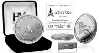 space.com - Space.com Staff - We're giving away a commemorative US Space Force silver coin!