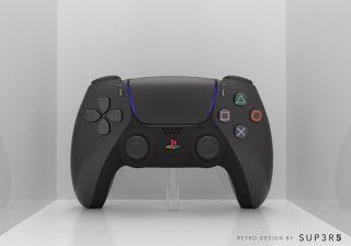 black dualsense ps5 controller
