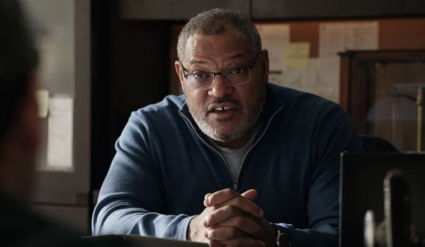 Laurence Fishburne goliath ant-man and the wasp