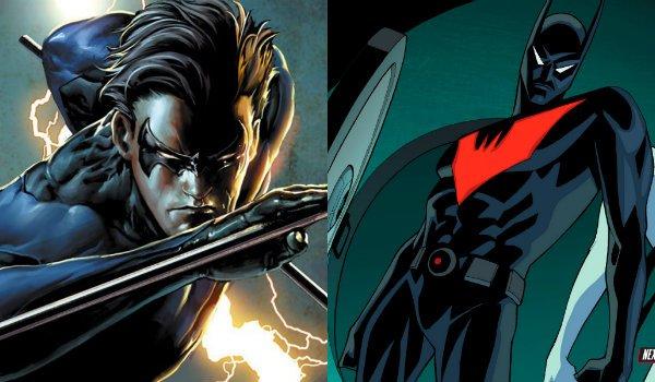 Nightwing Batman Beyond Dick Grayson Terry McGinnis