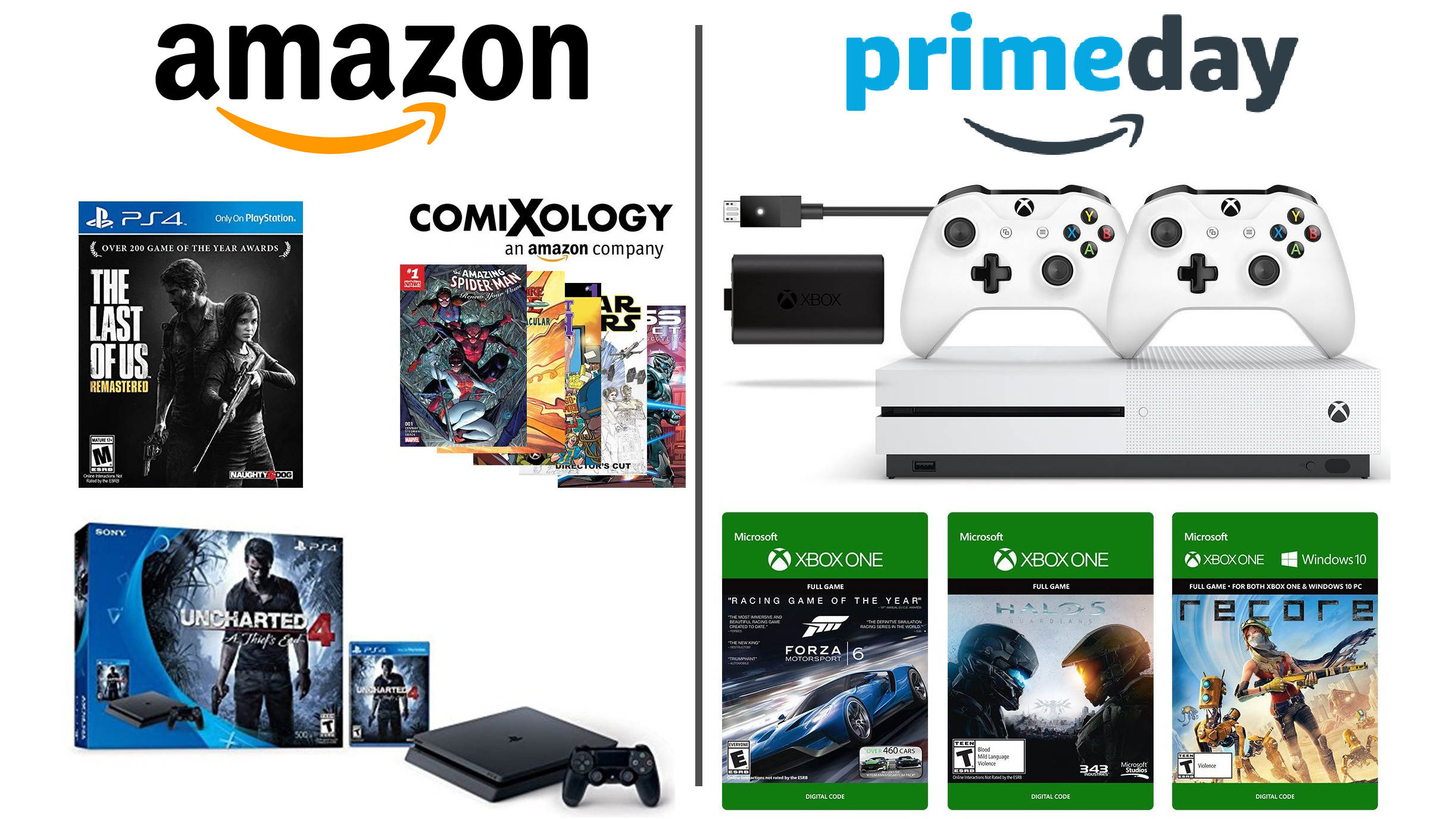 Dueling ps4 and xbox one bundles are incredibly cheap on amazon dueling ps4 and xbox one bundles are incredibly cheap on amazon prime day techradar sciox Choice Image