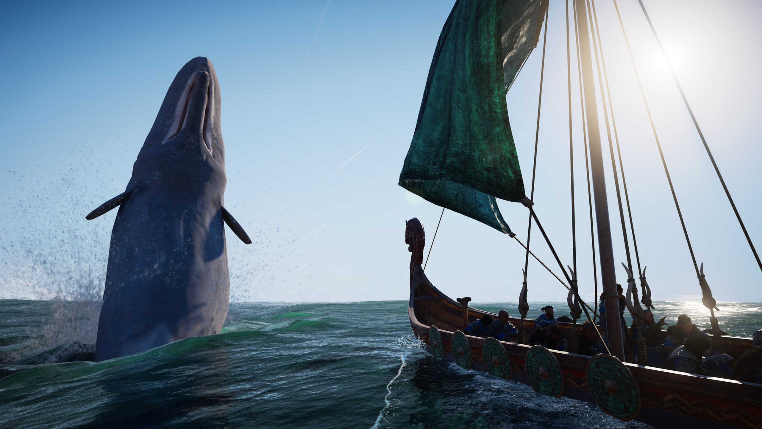 Assassin's Creed: Valhalla update grounds floating ships and stops whales fleeing in mid-air