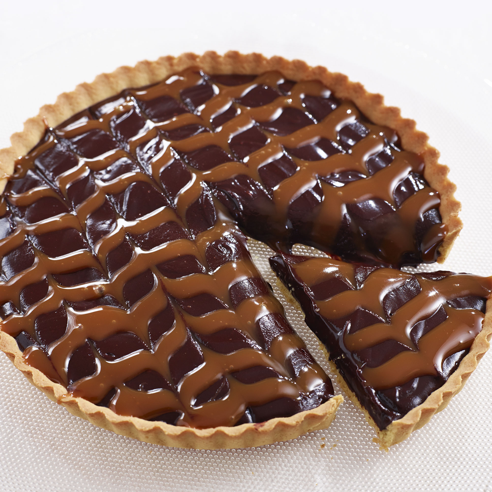 Salted Chocolate And Caramel Tart Dessert Recipes Woman Home