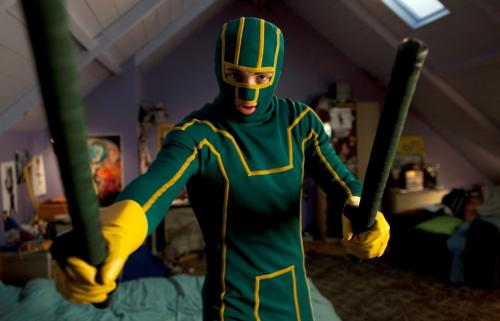 Kick-Ass - Aaron Johnson plays wannabe superhero Dave Lizewski in  the comic-book movie