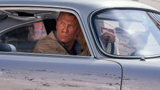 James Bond emerges from the shadows in this exclusive No Time to Die image