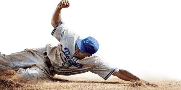 42 baseball slide