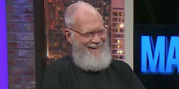 David Letterman's Big Beard