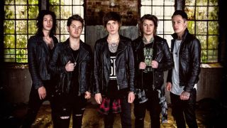 Asking Alexandria with Stoff