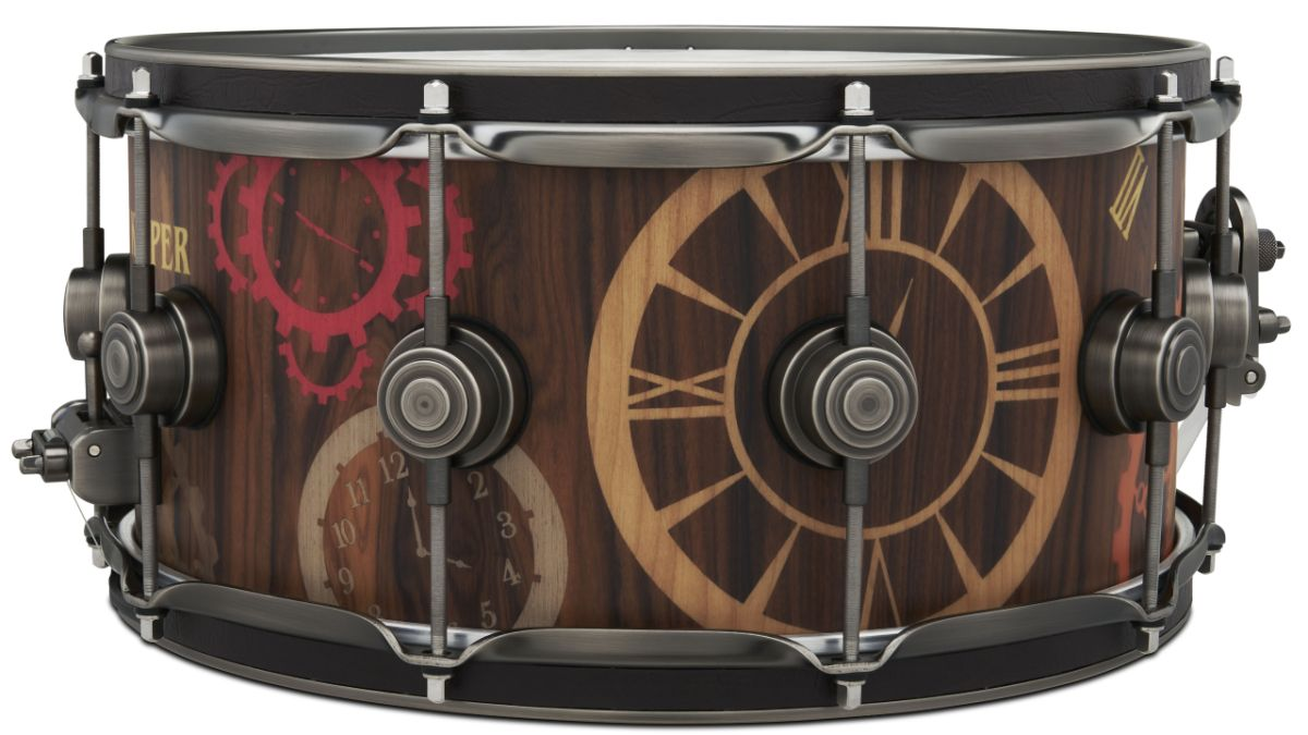 DW releases The Timekeeper snare drum