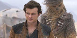 Solo: A Star Wars Story Han and Chewie Alden Ehrenreich Lucasfilm