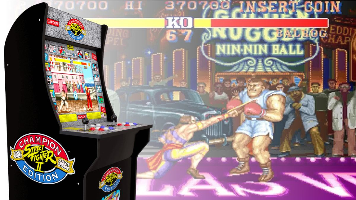 Save 100 On Your Very Own Street Fighter 2 Arcade Machine