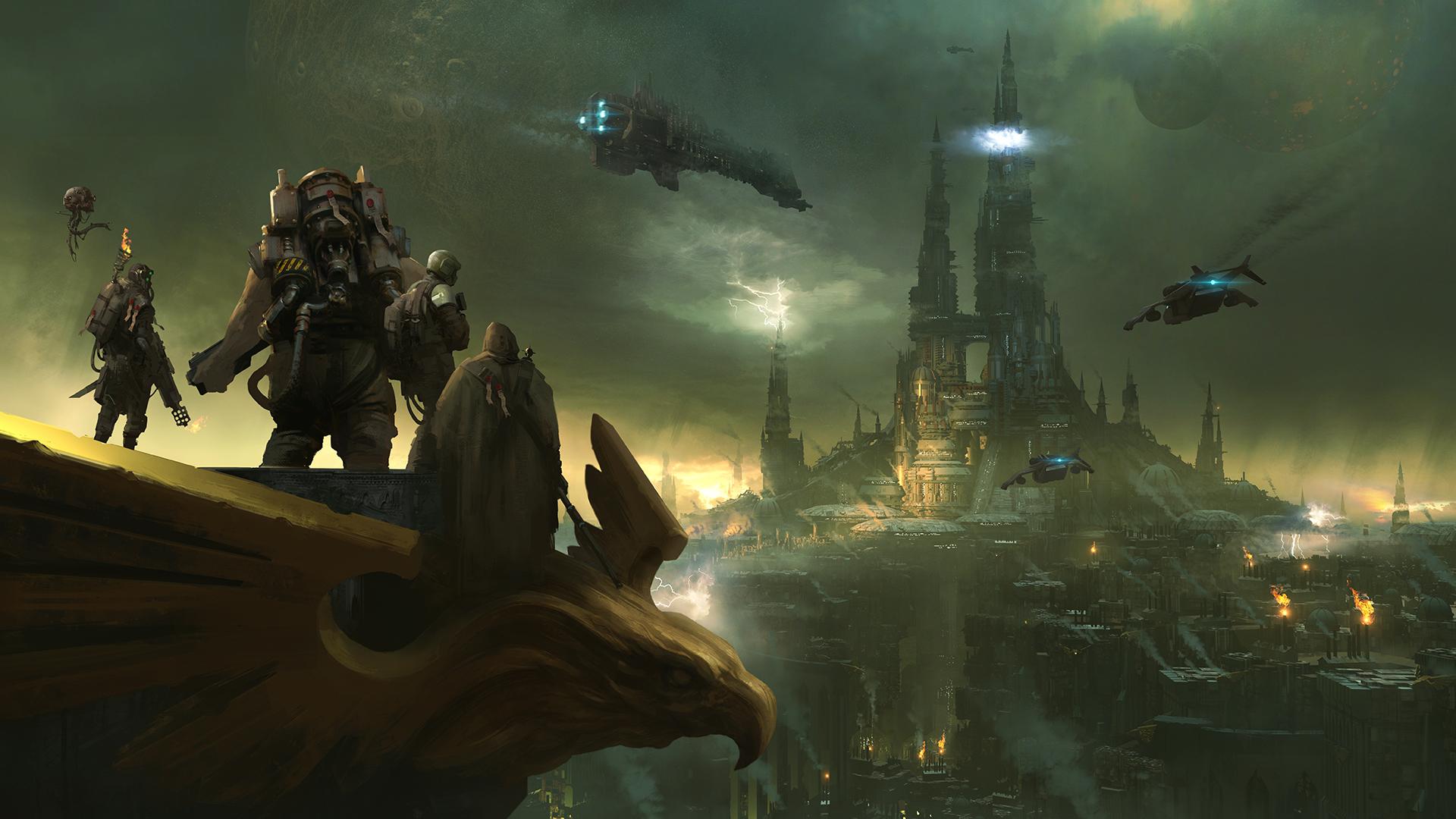 The protagonists of Warhammer 40,000: Darktide