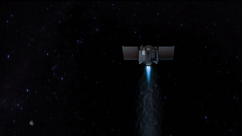 NASA's asteroid-sampling mission will bid farewell to asteroid Bennu today