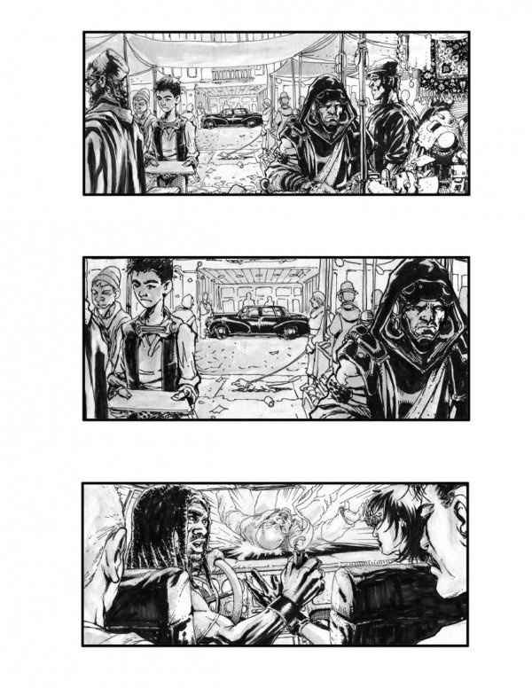 Neuromancer Storyboards Reveal Movie That Might Have Been #5296