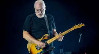 David Gilmour performs at the Royal Albert Hall in London on September 23, 2015