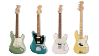 21 new made-in-Mexico guitars and basses feature updated Alnico pickups, bridges and finishes