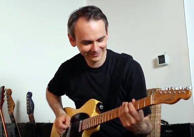"""Guitarist Premieres Blazing """"Satch Chicken Pickin' Boogie"""""""