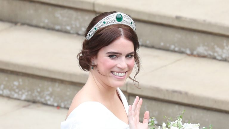 Princess Eugenie on her wedding day in 2018