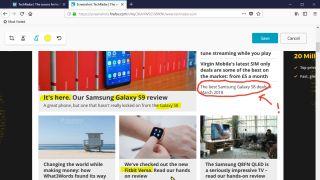 Firefox Quantum screenshot annotation