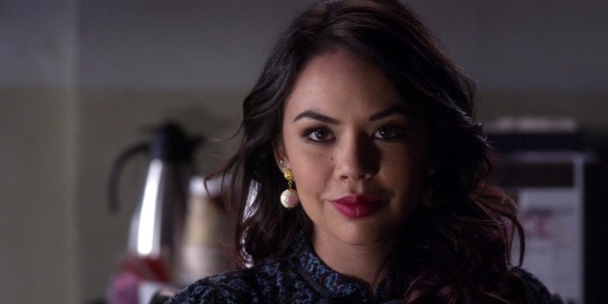 Janel Parrish as Mona in Pretty Little Liars