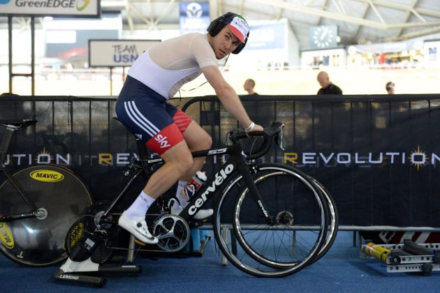 Mark Cavendish, Revolution round 5 January 2016