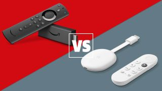 Amazon Fire TV Stick 4K vs Chromecast with Google TV: which is the best TV streaming device?