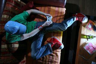 video games, stress