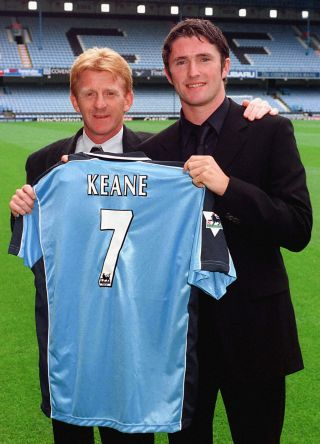 Coventry signing/Robbie Keane