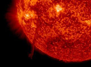 June 4, 2014, Solar Filament Close-Up