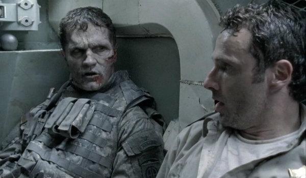 The Walking Dead Season 1 tank scene
