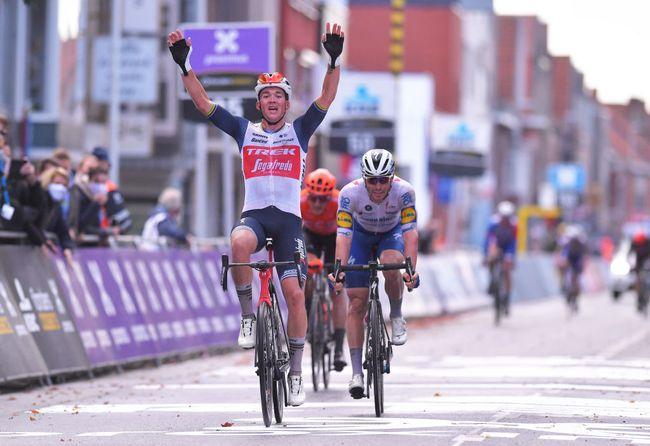 È il giorno dei Pedersen: dopo la vittoria di Casper alla Parigi-Tours arriva quella dellex campione del mondo Mads alla Gand-Wevelgem (Getty Images Sport)