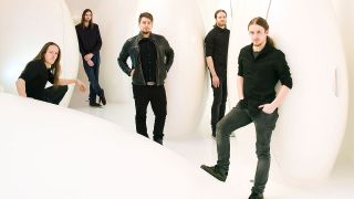 TesseracT in 2013 with former singer Ashe O'Hara