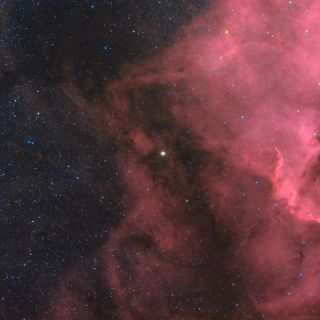 Xi Cygni and North American Nebula by Jeff Johnson