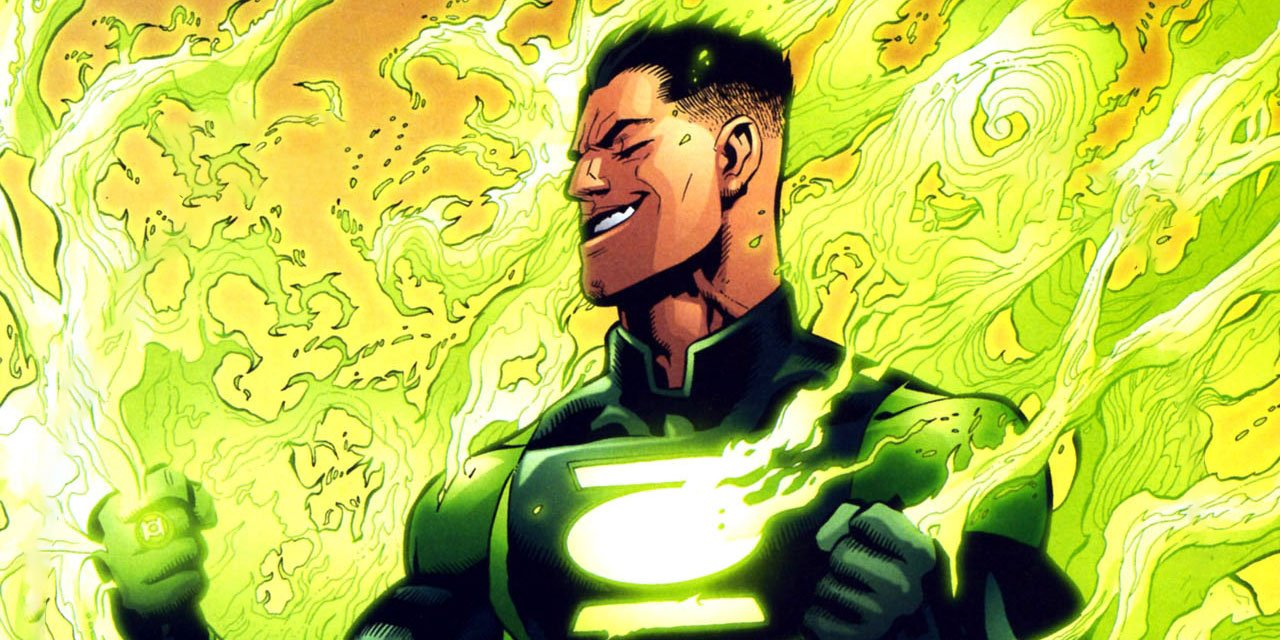 Sodam Yat stands among green flames dc comics