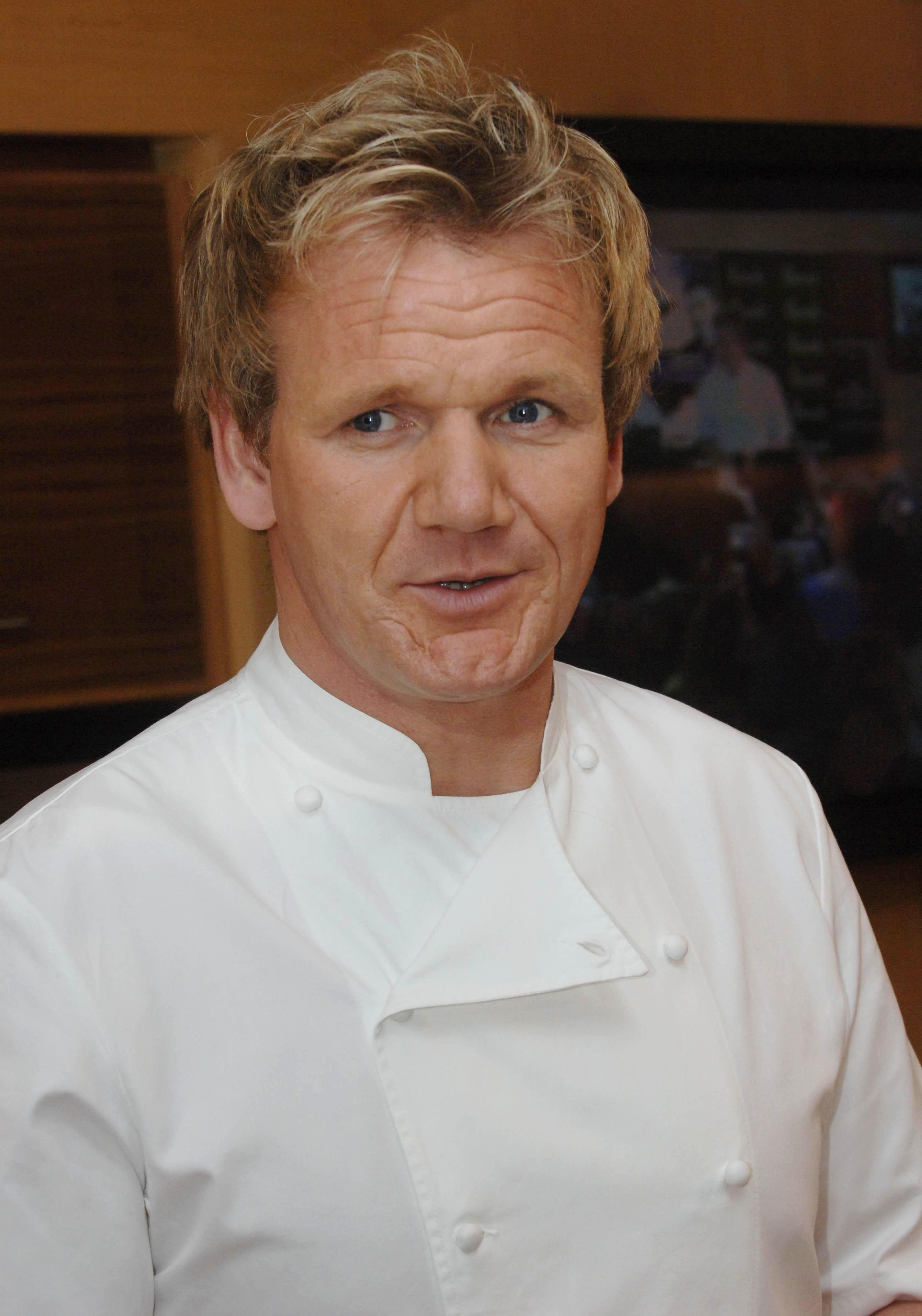 Ramsay faked a spearfishing scene
