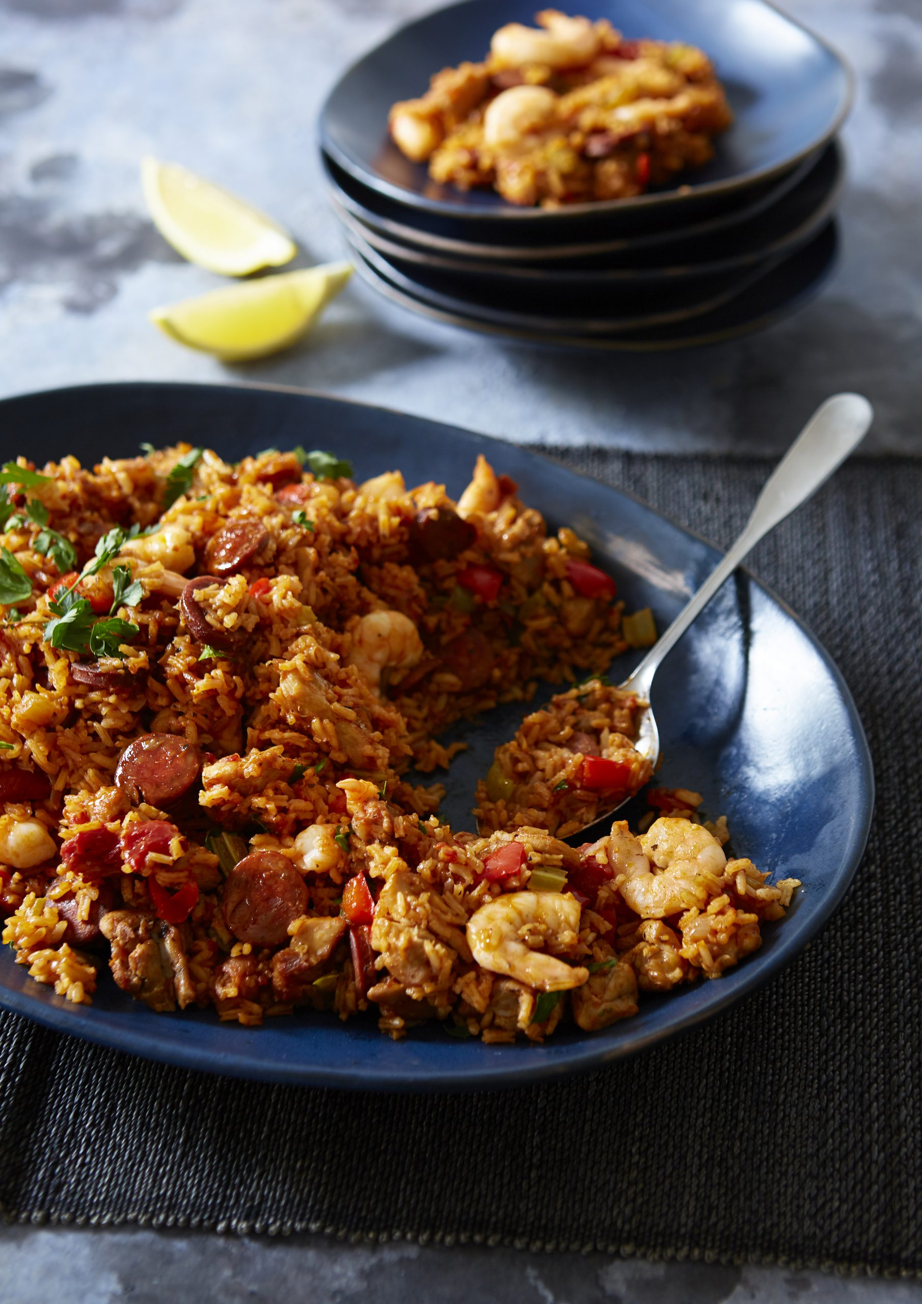 Give this deliciously spicy jambalaya a try with inspirations from the deep-south