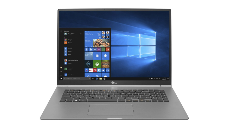 best laptops for graphic design: LG Gram 17""