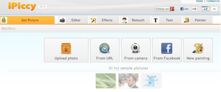 iPiccy - 5 Free Online Photo Editing Tools | Tom's Guide